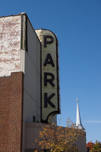 Park Theater Neon Sign