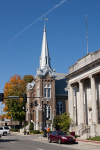 First United Methodist Church, North Chancery And Main Street